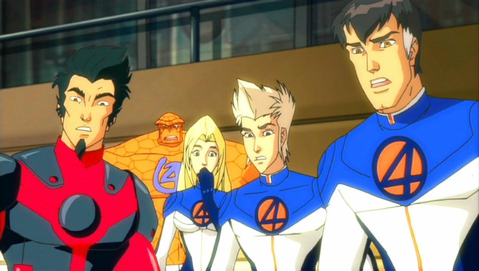 Il mondo di supergoku ant man i fantastici quattro
