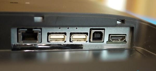 разъемы моноблока HP Slate 21 Pro