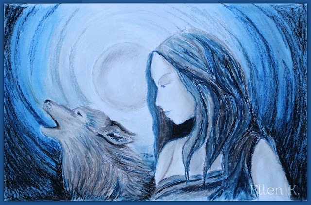 Full Moon Song wolf woman