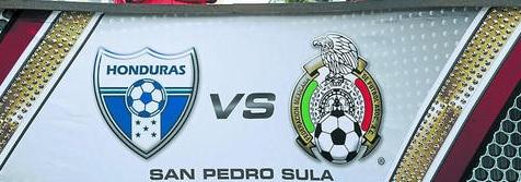 Honduras vs México eliminatoria 2013