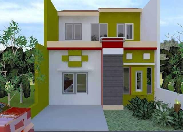 gambar rumah tingkat dua minimalis modern