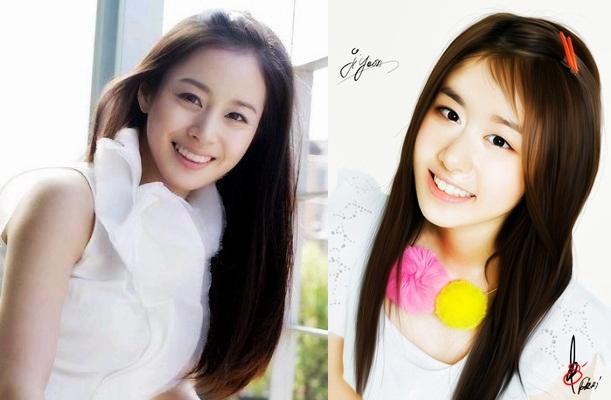 Kim Tae Hee Ji Yeon Snapshot of......