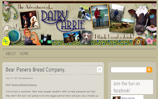 Dairy Carrie blog