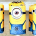 Minions: push-up cakes free printables.