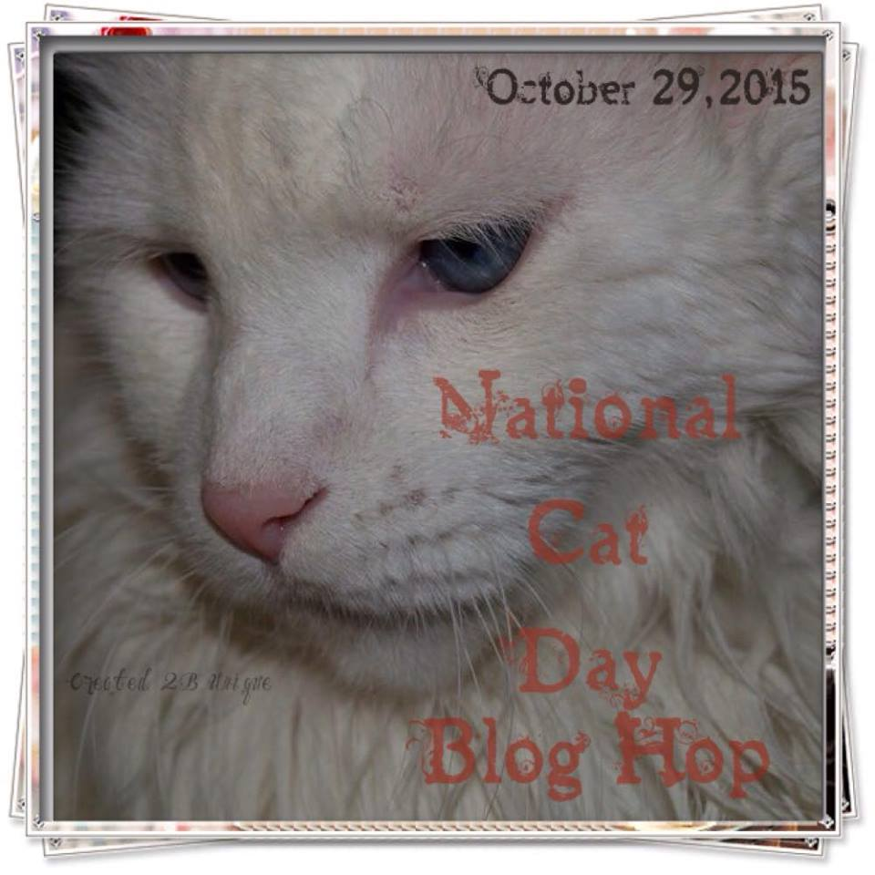 National Cat Day Blog Hop - Oct 29th