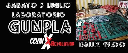 GUNPLA DAY  - Comix REVOLUTION BERGAMO