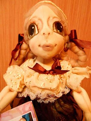 текстильная куклы Марины Семилетовой Марыси