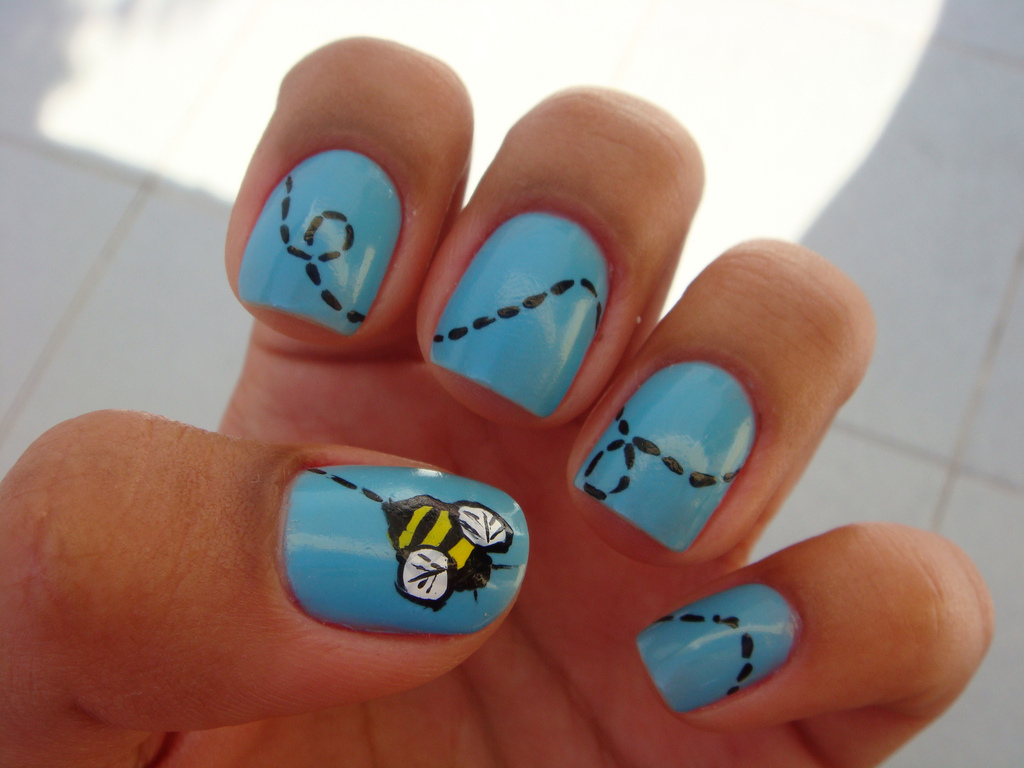 Great Cool Easy Nail Art Designs for Short Nails 1024 x 768 · 266 kB · jpeg