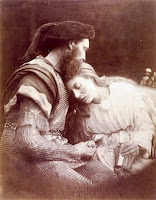 """The Parting of Sir Lancelot and Queen Guinevere"", por Julia Margaret Cameron"
