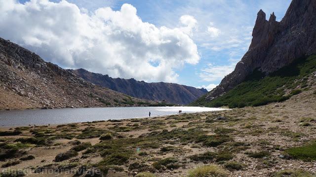 Trekking, Reugio Frey, refugio San martin, bariloche, laguna toncek
