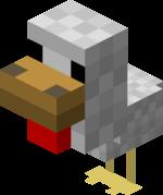 Minecraft chicken craft ideas.