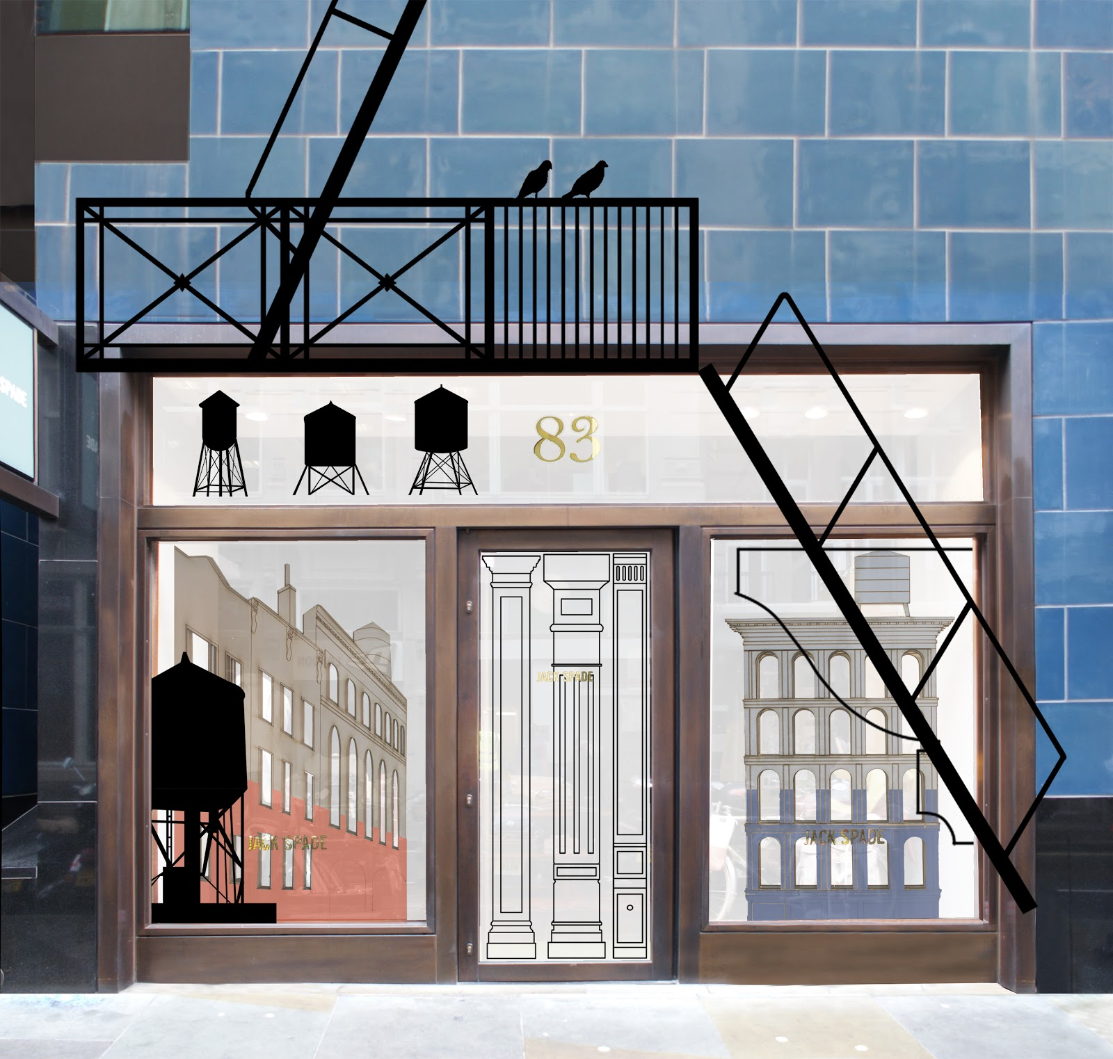The regent street windows project 2012 - Jack Spade By Carl Turner Architects