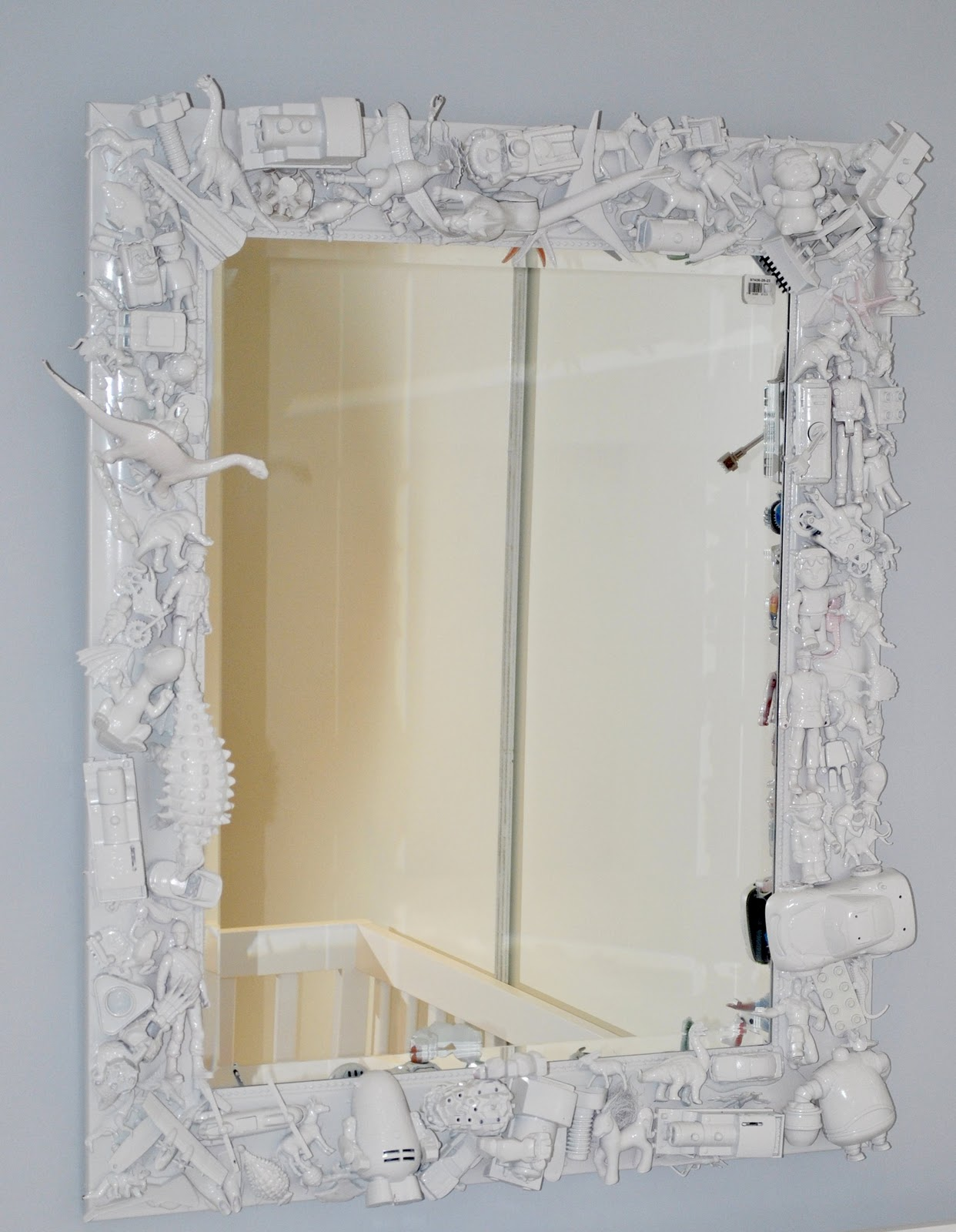 Как сделать большое зеркало в домашних условиях