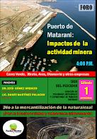 FORO: Impactos de la actividad minera