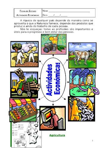 Atividades-Economicas-Ficha-de -Estudo
