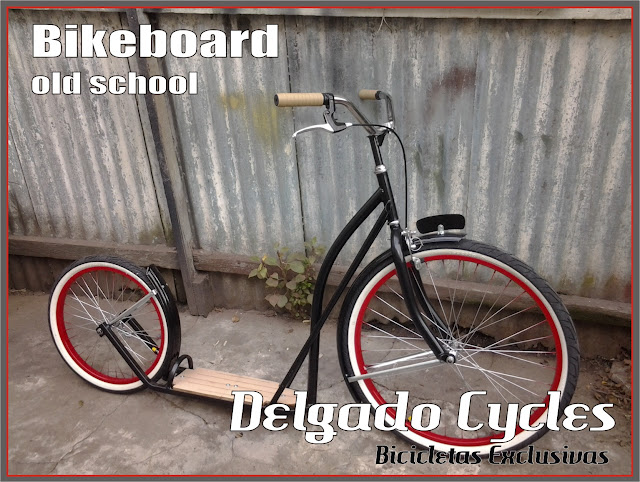 Bikeboard (monopatin) Delgado Cycles.