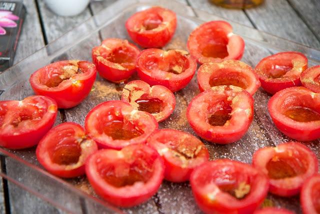 koverrettuja tomaatteja