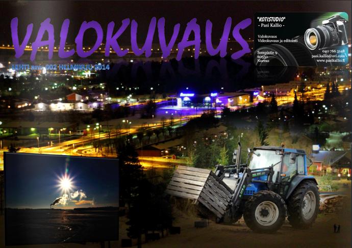 VALOKUVAUS-LEHTI 2014/02