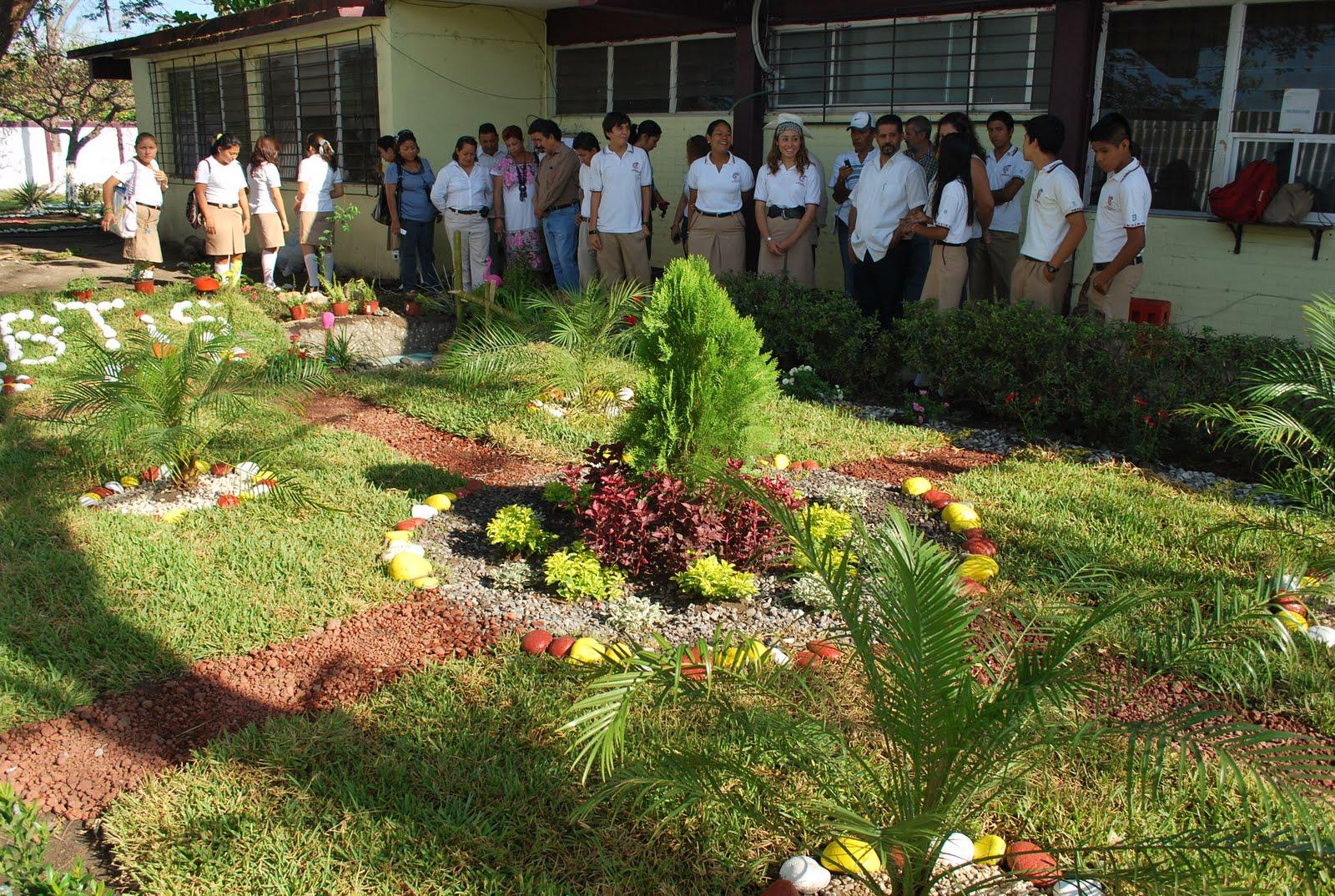 Astro 2002 areas verdes pulmones para la ciudad cbtis 66 for Jardines pequenos para escuelas