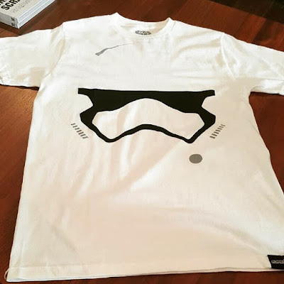 """Star Wars: The Force Awakens """"Minimalist First Order Stormtrooper"""" T-Shirt by Super7"""