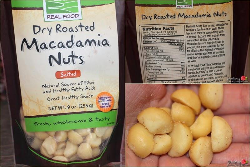 iherb אייהרב הזמנה רכישה מוצרים  dry roast macadamia nuts real foods אגוזי מקדמיה דובדבנים מומלצים המלצות גלוסברי