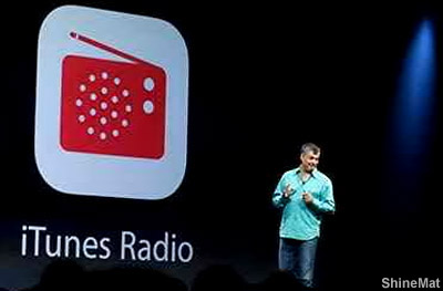 Apple's iTunes iRadio at WWDC 1