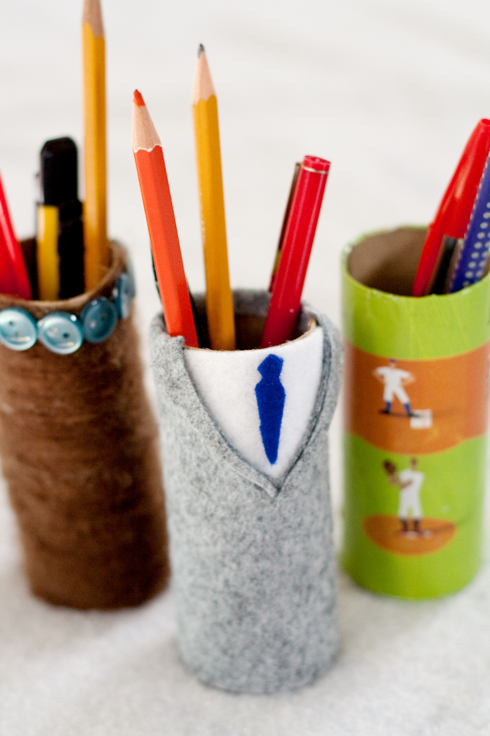 Mrs Ricefield A Pen Holder For Father S Day Tutorial