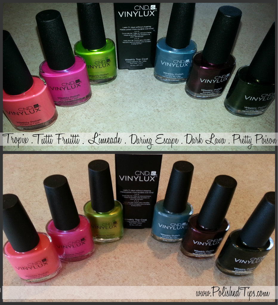 My Polished Tips Vinylux Tropix Tutti Frutti Limeade