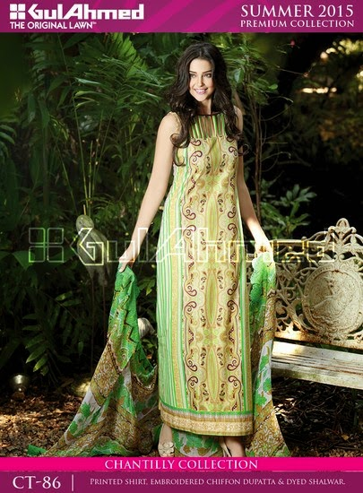 Chantilly De Chiffon Summer Collection by Gul Ahmed 8