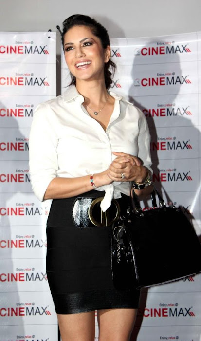 sunny leone at cinemax