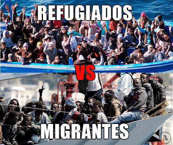 Refugiados vs Migrantes