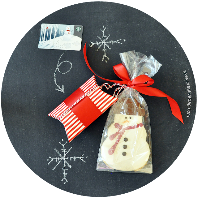 clear holiday packaging ideas from Lorrie Everitt | creativebag.com
