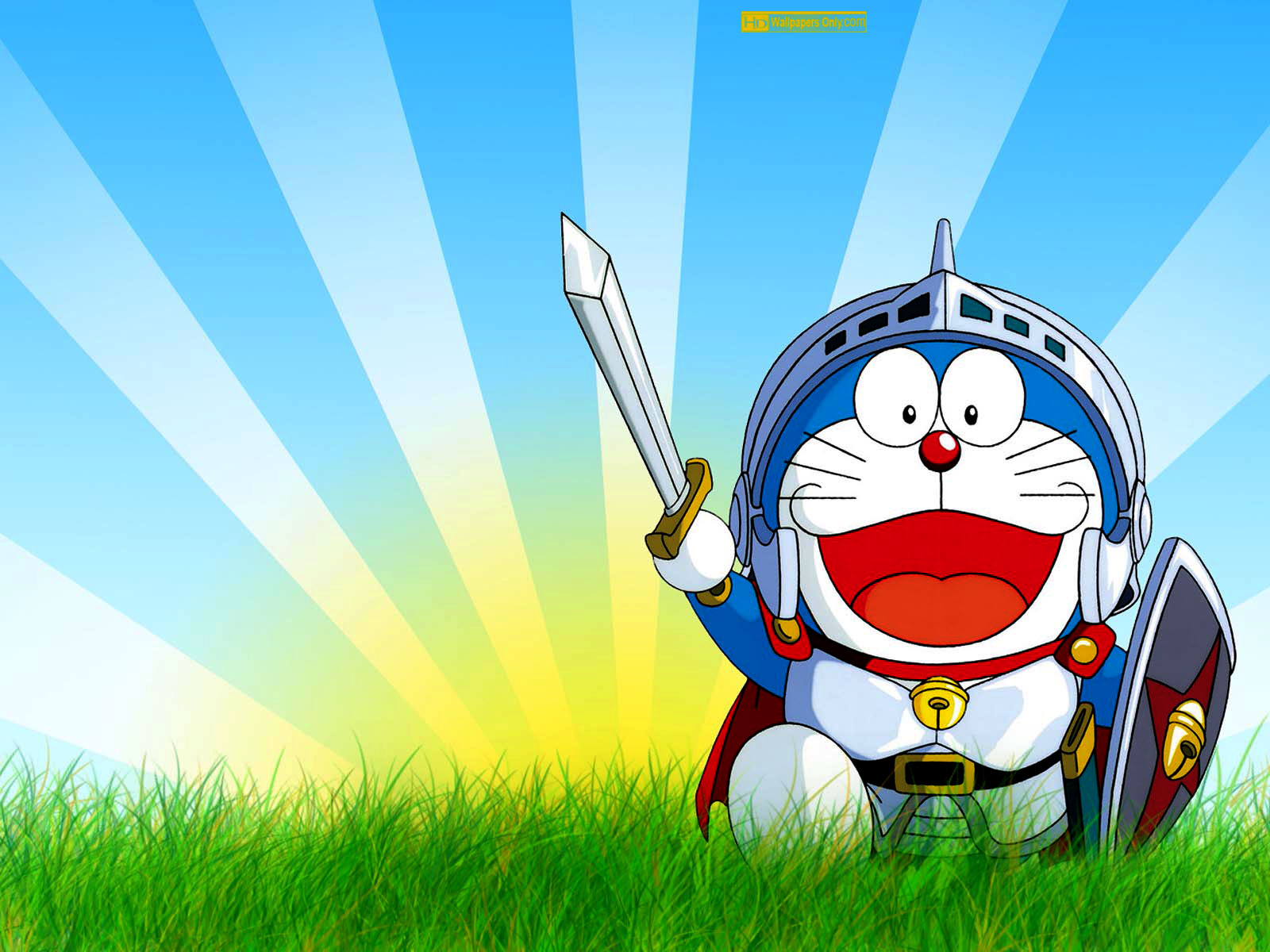 download wallpaper animasi doraemon