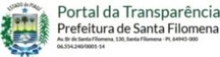 PORTAL DA TRANSPARÊNCIA - PMSF
