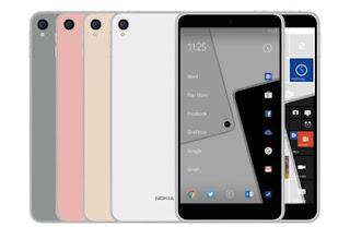 Nokia C1: Επίσημο render αποκαλύπτει δύο εκδόσεις (Windows και Android)