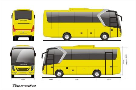 Tourista by Laksana Touring Coach
