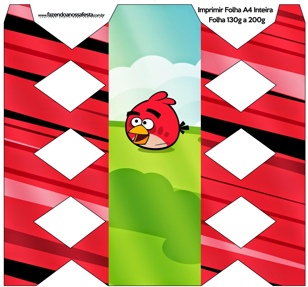 Imprimibles de Angry Birds para imprimir gratis.