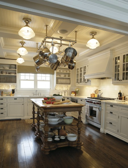TG interiors: The New Country KitchenMeets Industrial.