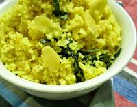 Couscous Marroquino com Amêndoas e Limão (vegana)