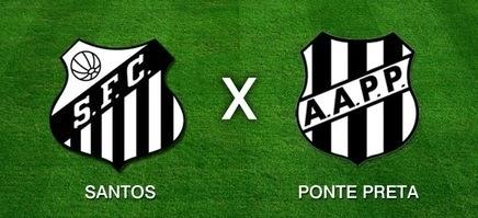 Santos x Ponte Preta