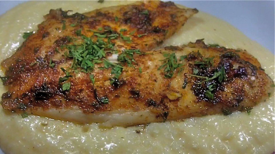 cajun fish and cheese grits savory divas can cook