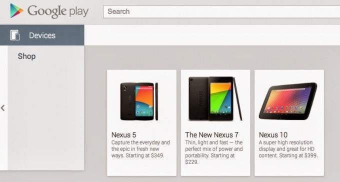 Internet's Best Secrets: Nexus 5 price revealed by Google ...