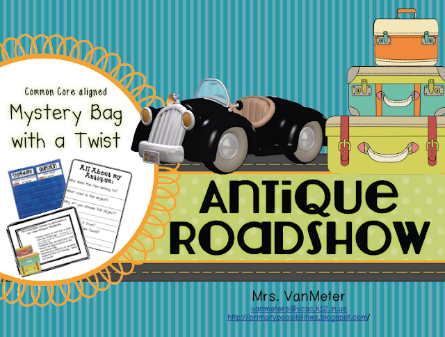 http://www.teacherspayteachers.com/Product/Antique-Roadshow-Mystery-Bag-with-a-Twist-981401