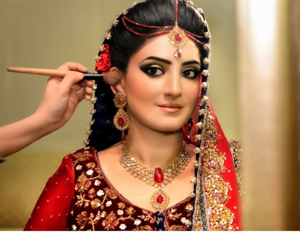 new dulhan make up 2014
