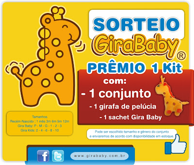 Sorteio Gira Baby