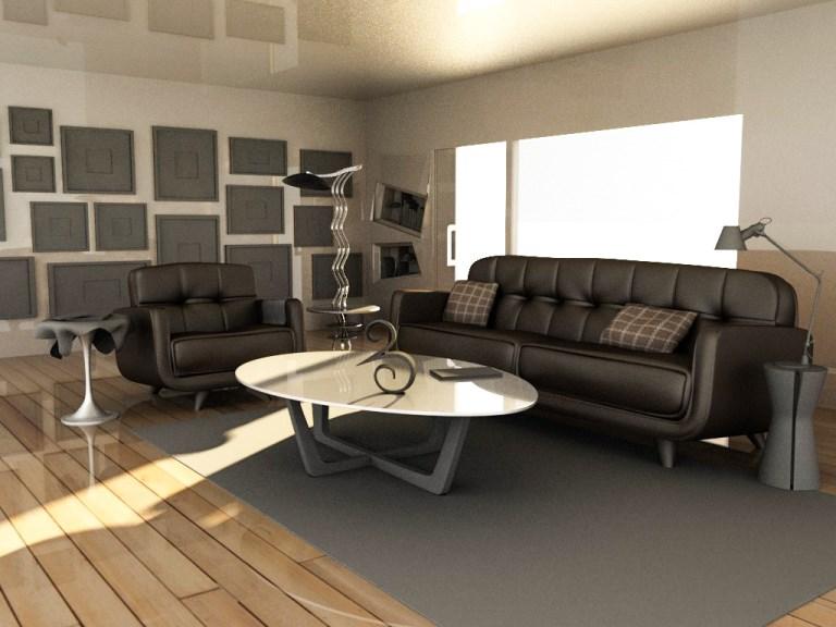 Aazeddine Serghini Blog Interior Scene