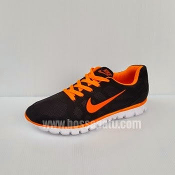 Nike Free Hitam Orange