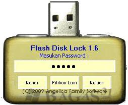 Flash Disk Lock v.1.6 - Tool Pengunci Flashdisk 1