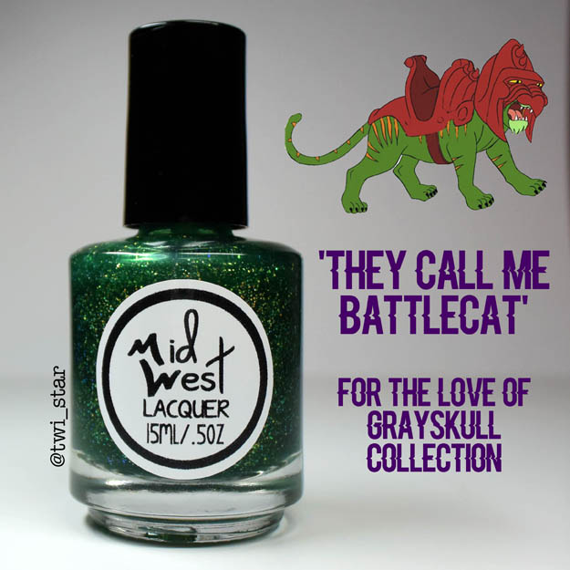 MidWest Lacquer For The Love of Grayskull He-Man They Call Me Battlecat