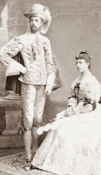 Gustaf V de Suède-Viktoria de Bade-Bernadotte-